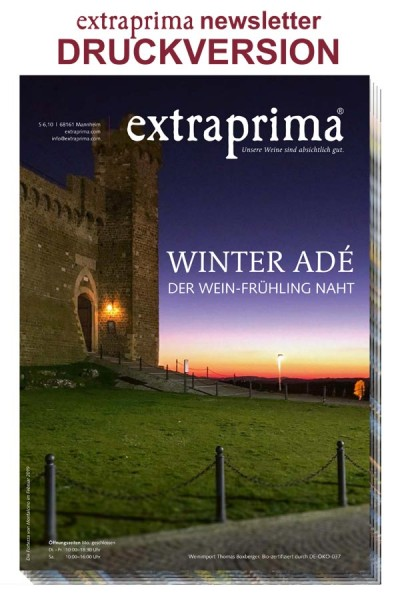 Druckversion newsletter März 2019 | WINTER ADÉ - der Wein-Frühling naht