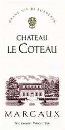 2017 Château Le Coteau - Margaux