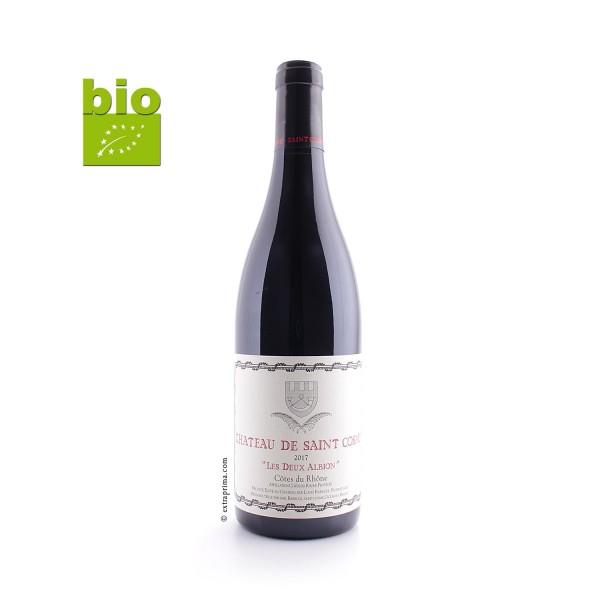 2017 Côtes-du-Rhône Les Deux Albions - Saint Cosme -bio-
