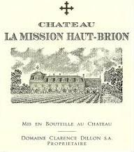 2017 Château La Mission Haut-Brion rouge - Péssac-Léognan