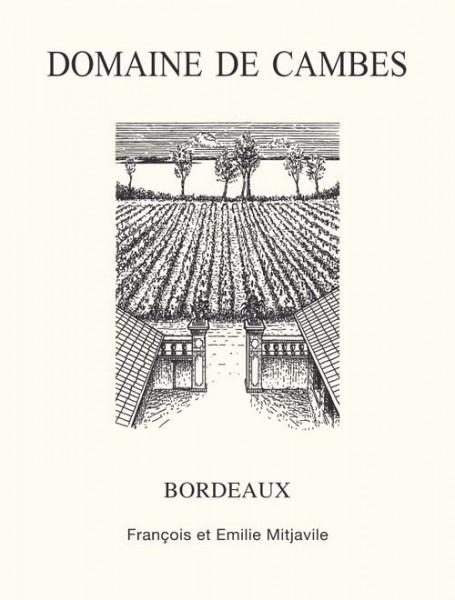 2018 Domaine de Cambes - Bordeaux