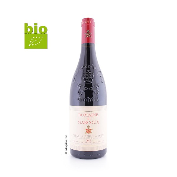2015 Châteauneuf-du-Pape rouge - Marcoux BIO
