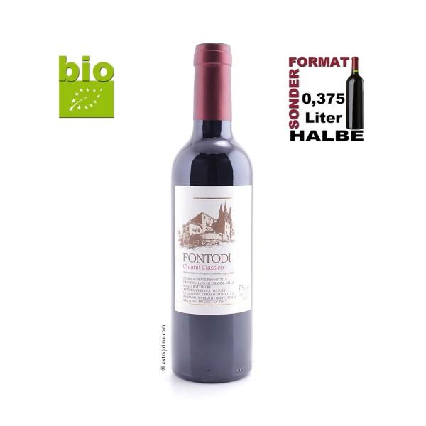 2017 Chianti Classico - Fontodi | Halbe 0,375-Ltr. -bio-