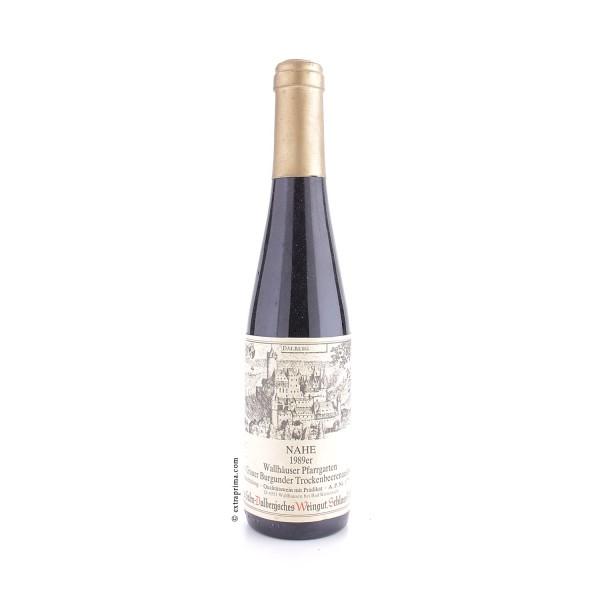 1989 Wallhäuser Pfarrgarten Grauer Burgunder Trockenbeerenauslese - Prinz zu Salm-Dalberg'sches Wein
