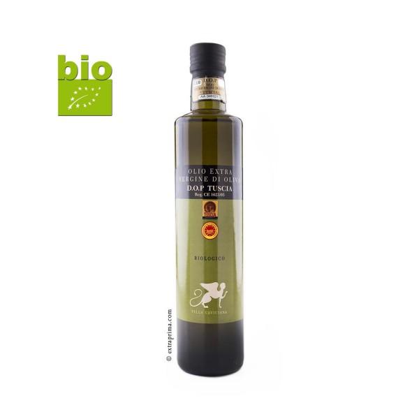 Olio Extra Vergine di Oliva D.O.P Tuscia Biologico - 0,5 Liter -bio-