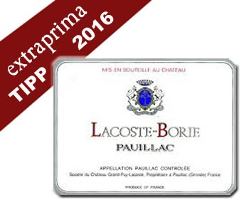 2016 Lacoste-Borie - Pauillac