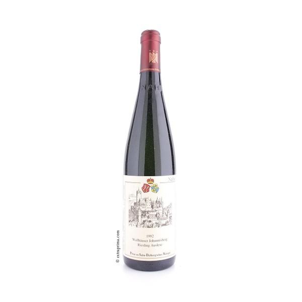 1992 Wallhäuser Johannisberg Riesling Auslese - Prinz zu Salm-Dalberg'sches Weingut