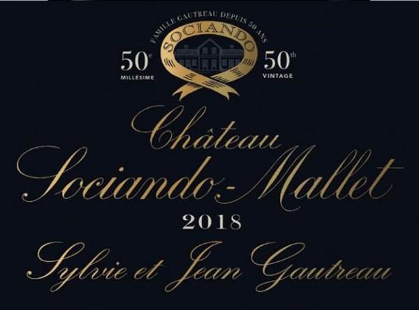 2018 Château Sociando-Mallet - Haut-Médoc
