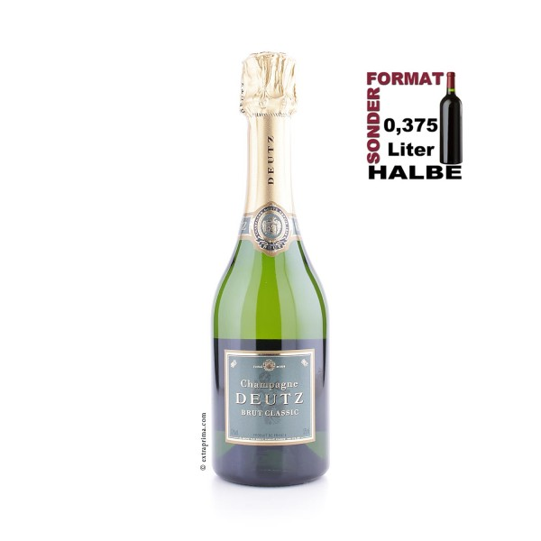 Champagne Brut Classic - Deutz | Halbe 0,375-Ltr.