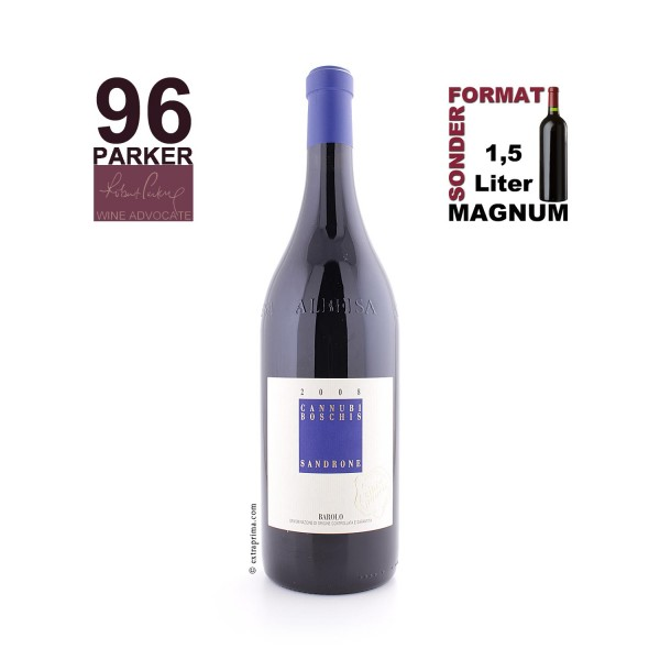 2008 Barolo 'Cannubi Boschis' Sibi et Paucis | MAG 1,5-Ltr.