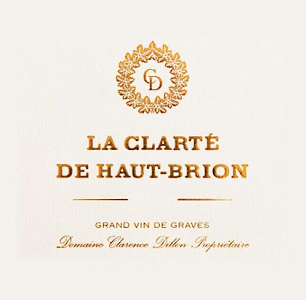 2017 Clarté de Haut-Brion blanc - Péssac-Léognan