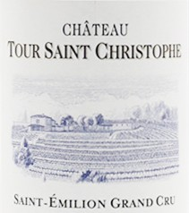 2018 Château Tour Saint Christophe - St.-Emilion