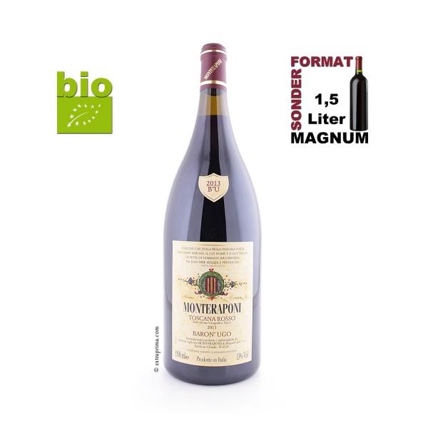 2013 'Baron' Ugo' Toscana rosso IGT - Monteraponi | MAG 1,5-Ltr. -bio-