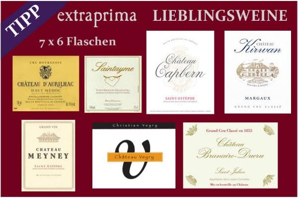 2016 Lieblingswein Paket | gesamt 42 Flaschen sortiert folgender Weine