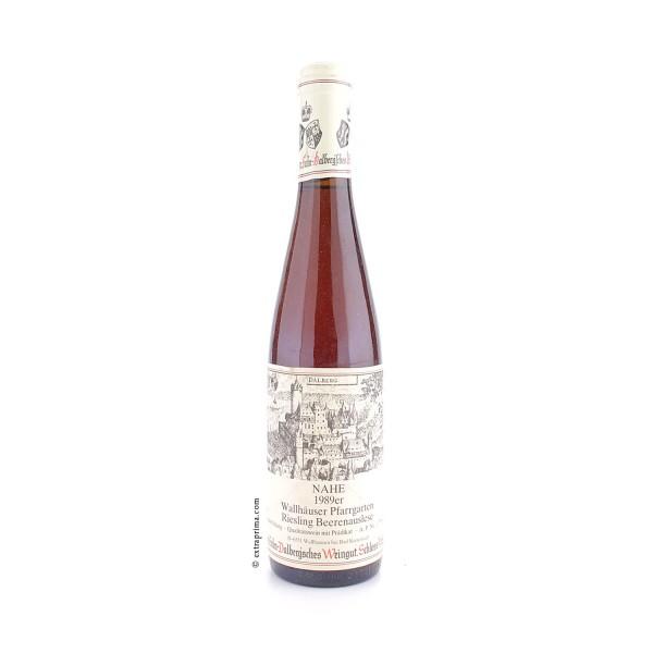 1989 Wallhäuser Pfarrgarten Riesling Beerenauslese - Prinz zu Salm-Dalberg'sches Weingut | Halbe 0,3