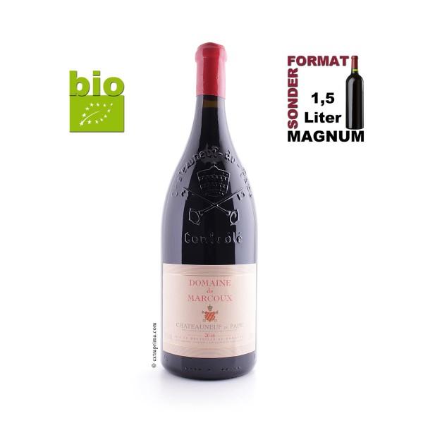 2016 Châteauneuf-du-Pape rouge - Marcoux   MAG 1,5-Ltr. -bio-