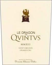 2019 Le Dragon de Quintus - St.-Emilion