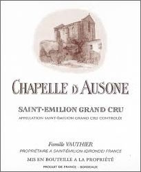 2019 Chapelle d'Ausone - St.-Emilion