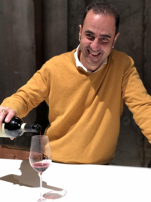 Maurizio Alongi bei der Chianti Collection