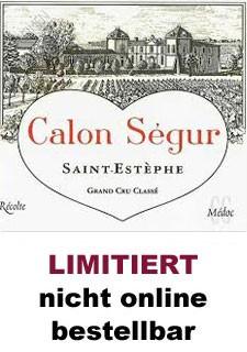 2018 Château Calon-Ségur - St.-Estèphe