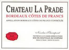 2015 Château La Prade - Francs