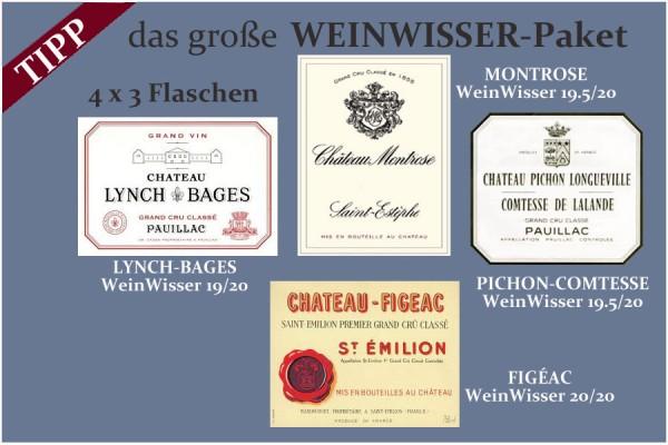 2018 Das große WeinWisser-Paket | gesamt 12 Flaschen