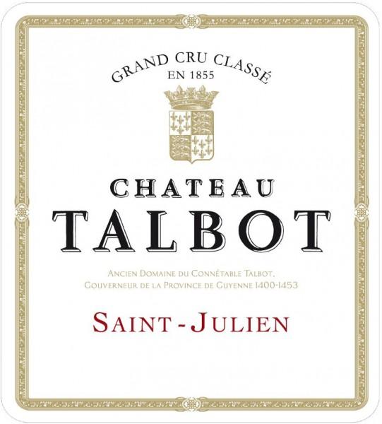 2018 Château Talbot - St.-Julien