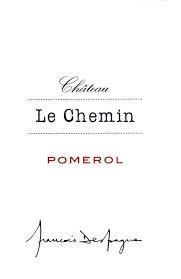 2015 Château Le Chemin - Pomerol