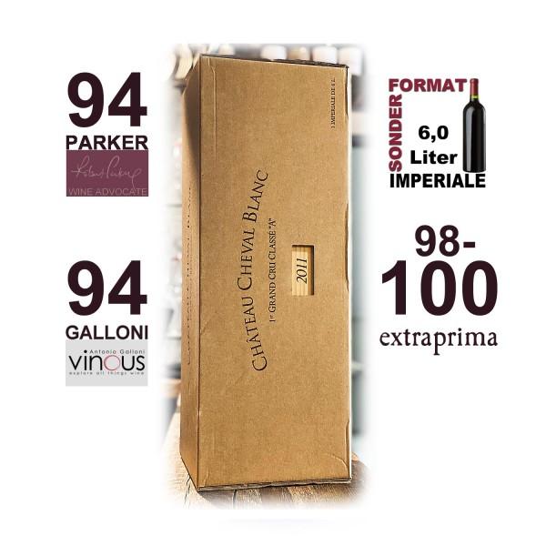2011 Château Cheval Blanc | IMPERIALE 6,0-Ltr.