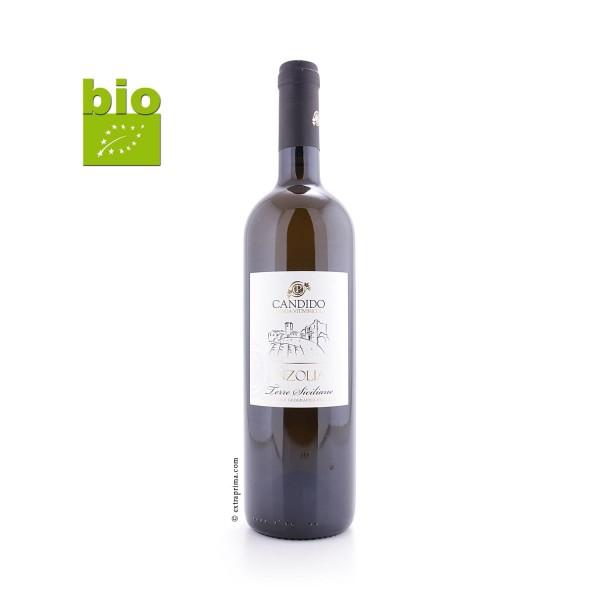 2017 Inzolia bianco Sicilia IGP BIO