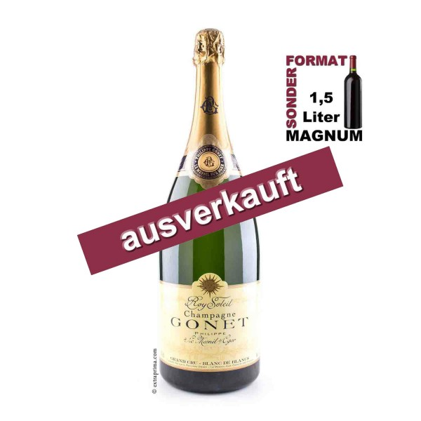 Champagne Brut Blanc de Blancs 'Roy Soleil' Grand Cru   MAG 1,5-Ltr.