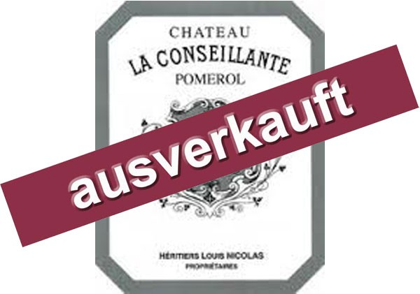2019 Château La Conseillante - Pomerol