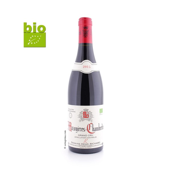 2015 Mazoyères-Chambertin Grand Cru - Henri Richard - BIO