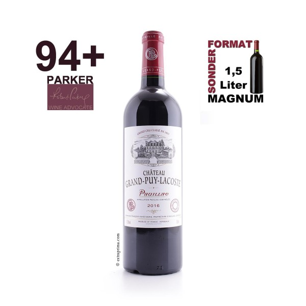 2016 Château Grand Puy Lacoste - Pauillac | MAG 1,5-Ltr