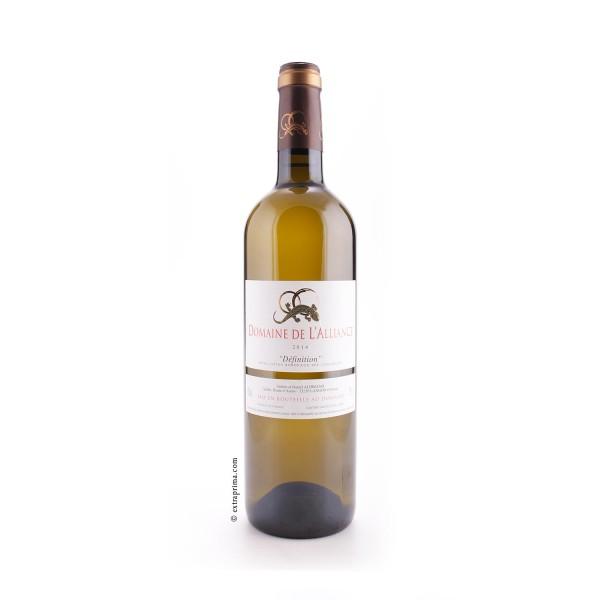 2014 Definition Bordeaux blanc sec - Domaine de l'Alliance