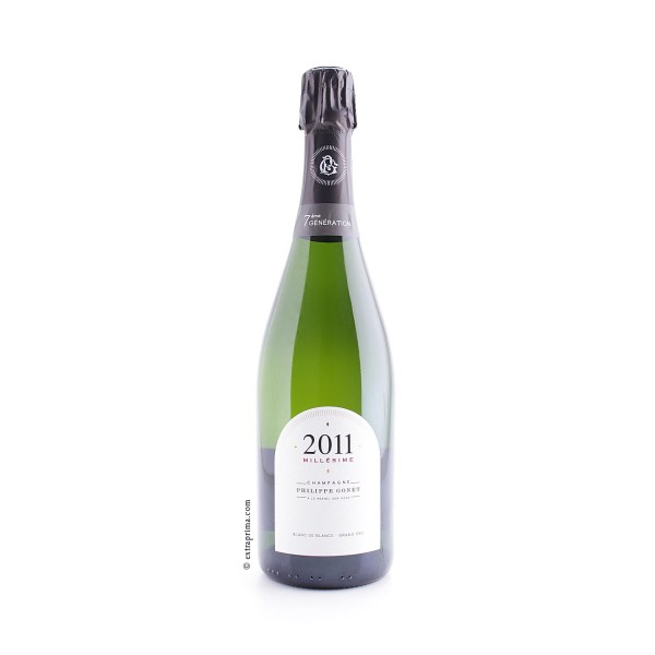 2011 Champagne Brut Millésime Grand Cru - Philippe Gonet