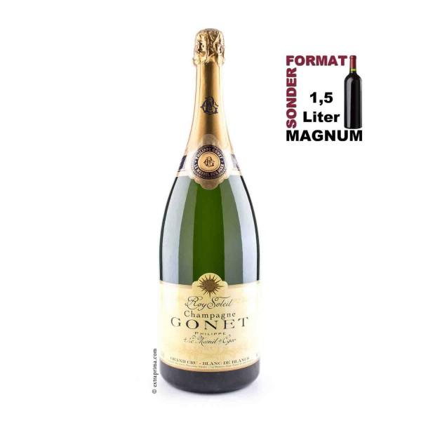 Champagne Brut Blanc de Blancs 'Roy Soleil' Grand Cru | 1,5-Ltr. Magnum
