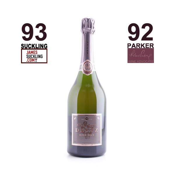 2014 Champagne Millésime Rosé - Deutz