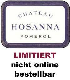 2018 Château Hosanna - Pomerol