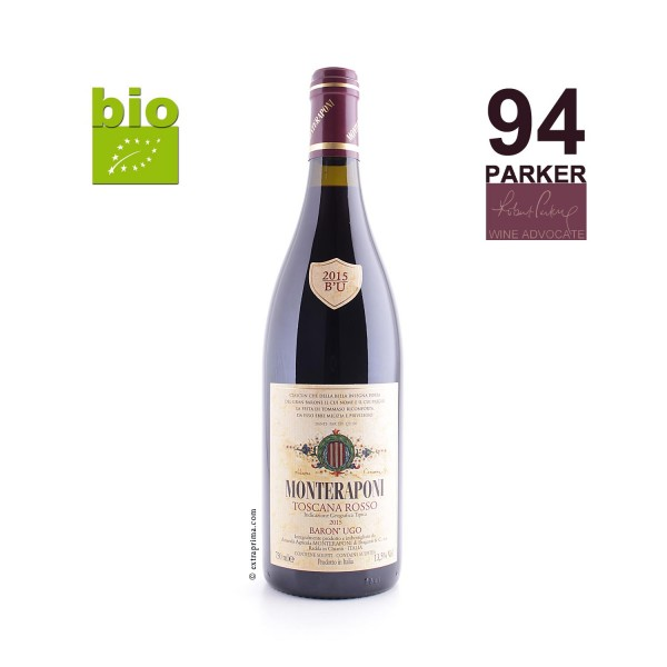 2015 'Baron' Ugo' Toscana rosso IGT -bio-