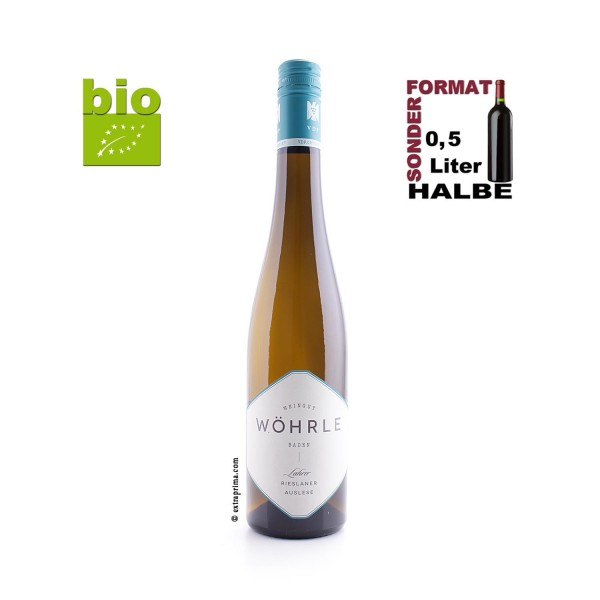 2019 Lahrer Rieslaner Auslese - Wöhrle | Halbe 0,5-Ltr. -bio-