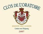 2015 Château Clos de l'Oratoire - St.-Emilion