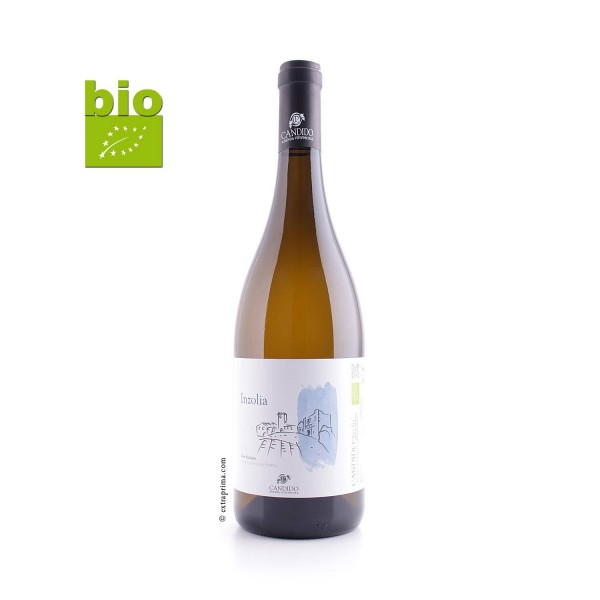 2018 Inzolia bianco Sicilia IGP -bio-