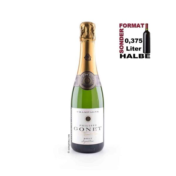 Champagne Brut Blanc de Blancs 'Signature' | Halbe 0,375-Ltr.