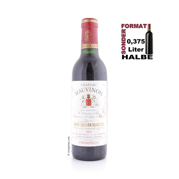 1985 Château Mauvinon - St.-Emilion Grand Cru | Halbe 0,375 ltr.