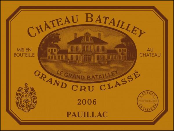 2015 Château Batailley - Pauillac