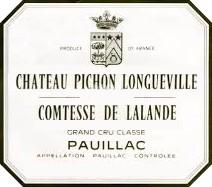 2016 Château Pichon Comtesse - Pauillac