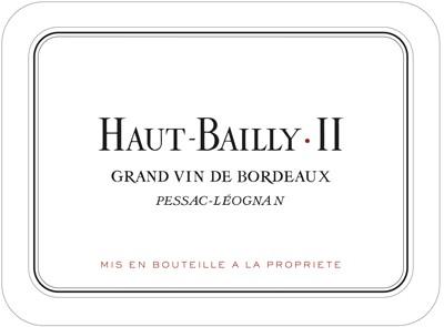 2018 Haut-Bailly II - Péssac-Léognan