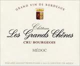 2016 Château Les Grands Chênes - Médoc
