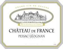 2018 Château de France rouge - Péssac-Léognan